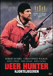 Deer Hunter, hjortejegeren DVD blu ray